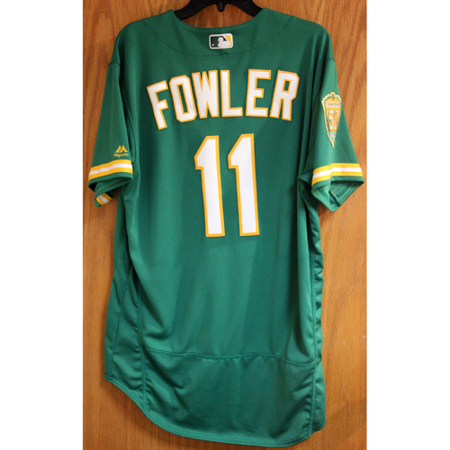 Photo of Dustin Fowler Game-Used Jersey - HR (4)