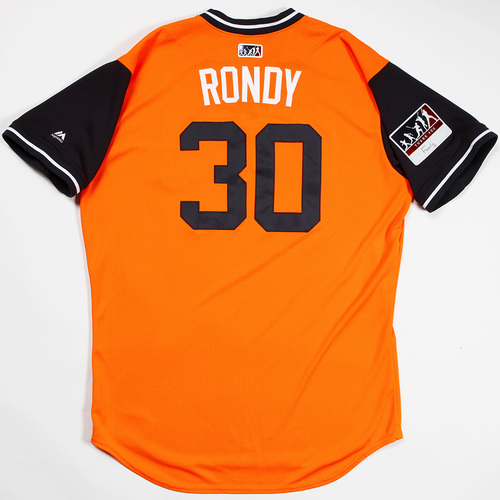 """Photo of Hector """"Rondy"""" Rondon Houston Astros Game-Used 2018 Players' Weekend Jersey"""