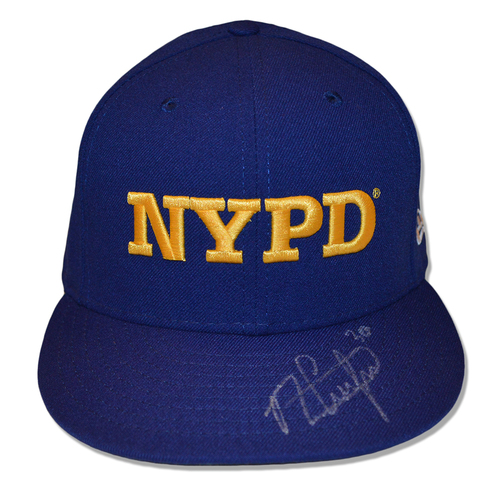 Photo of Michael Conforto #30 - Autographed Game Used Adjustable First Responder Hat - 9/11/18