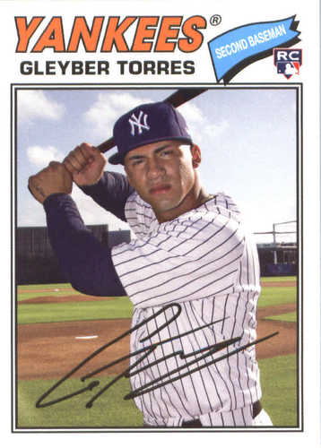 Photo of 2018 Topps Archives #164 Gleyber Torres RC
