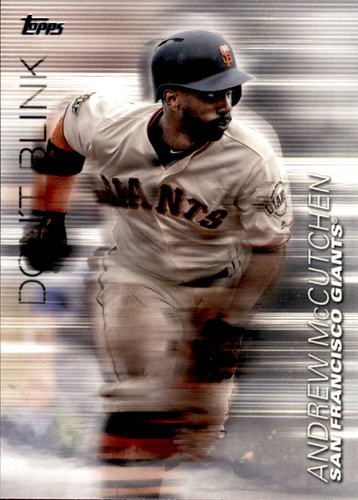 Photo of 2018 Topps Update Don't Blink #DB15 Andrew McCutchen