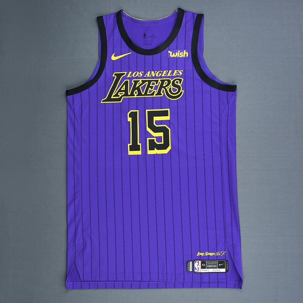 7ff54f1ca97 Moritz Wagner - Los Angeles Lakers - Christmas Day  18 - Game-Worn City
