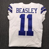 Crucial Catch - Cowboys Cole Beasley Signed Game Issued Jersey Size 48 w/Prova Authentication