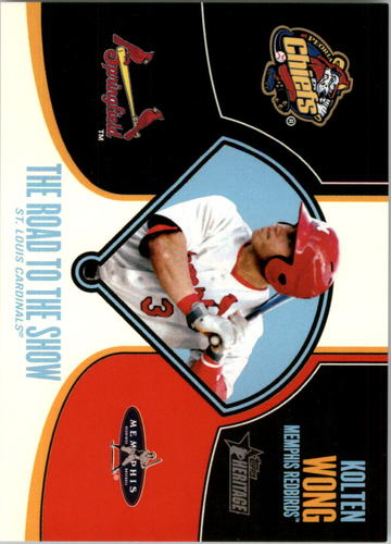 Photo of 2013 Topps Heritage Minors Road to the Show #KW Kolten Wong