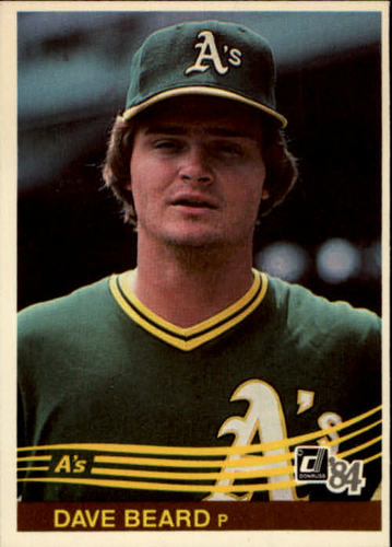 Photo of 1984 Donruss #218 Dave Beard