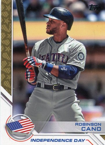 Photo of 2017 Topps Independence Day #ID30 Robinson Cano