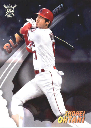 Photo of 2019 Topps Big League Blast Off #BO2 Shohei Ohtani