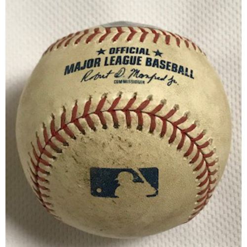 Photo of 7/31/20 Game-Used Baseball, Dodgers at D-backs: Kevin Ginkel vs. Cody Bellinger (Foul)