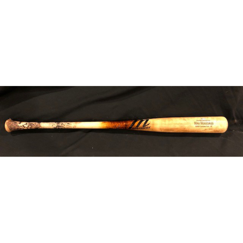 Photo of Mike Moustakas -- Game-Used Broken Bat -- From 7/29/20 CHC vs. CIN -- Ball -- Black Friday Free Shipping