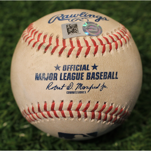 Photo of Game-Used Baseball: Adam Engel 46th Career Double (CWS@KC 7/26/21)