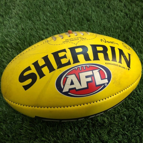 Photo of Carlton 2021 Round 19 Match Used Ball - #4