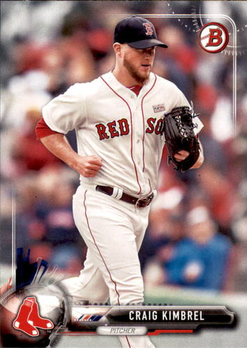 Photo of 2017 Bowman #24 Craig Kimbrel