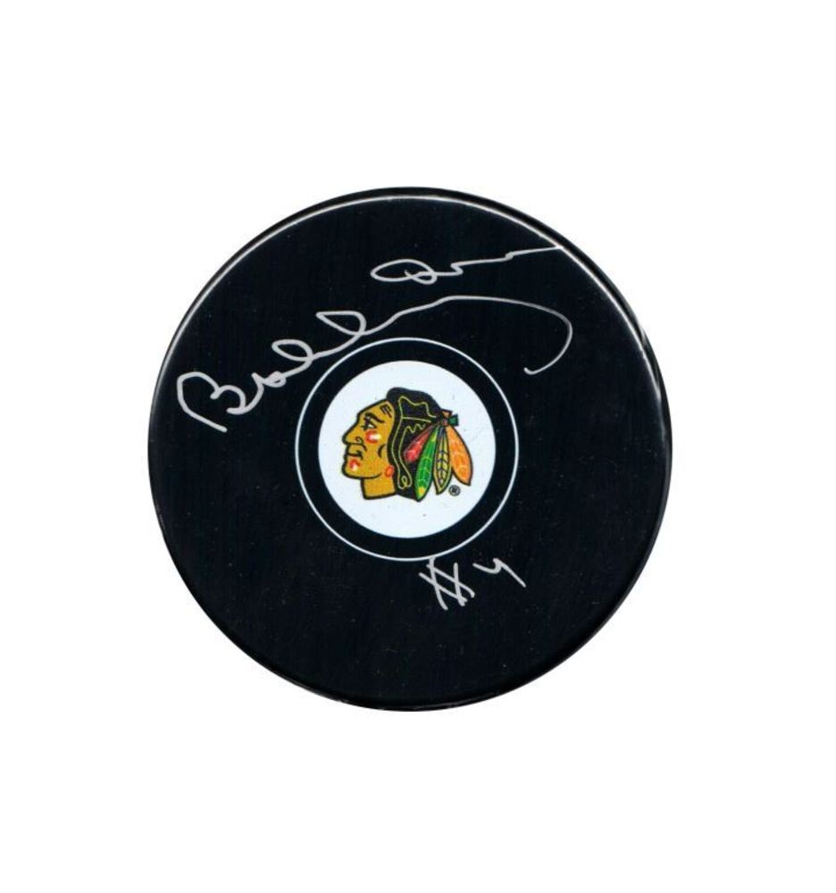 Bobby Orr - Signed Chicago Blackhawks Autograph Series Puck