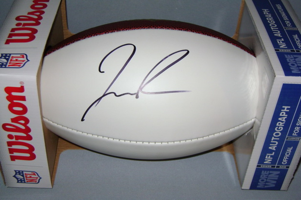 NFL - RAMS JOSH REYNOLDS SIGNED PANEL BALL