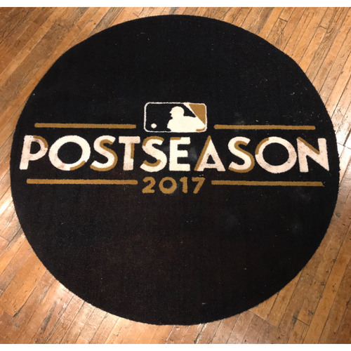 Photo of 2017 Postseason Game-Used Diamondbacks On-Deck Circle: Used on Field at Chase Field for the Wild Card Game & NLDS Game 3