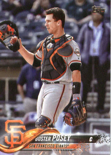 Photo of 2018 Topps #250 Buster Posey