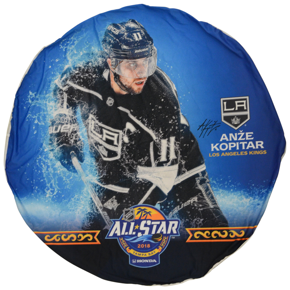 Anze Kopitar Los Angeles Kings Autographed 2018 All-Star Game Event-Used Banner