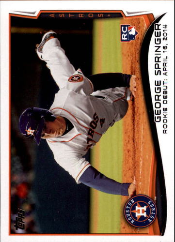 Photo of 2014 Topps Update #US210 George Springer Rookie Card