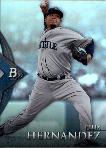 Photo of 2014 Bowman Platinum #17 Felix Hernandez