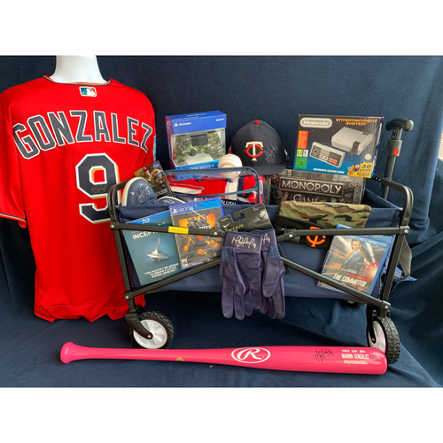 Photo of 2019 Twins Favorite Things Auction: Marwin Gonzalez Favorite Things Basket