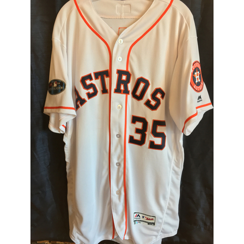 Photo of 2018 Team-Issued Justin Verlander Postseason Jersey (Size 48)