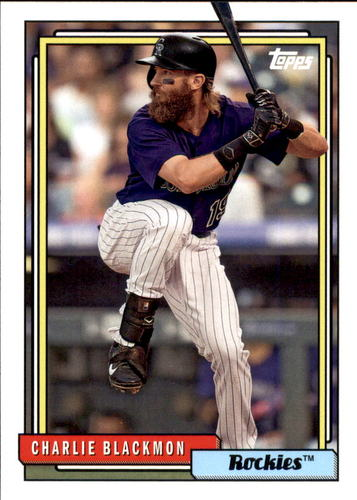 Photo of 2017 Topps Archives #281 Charlie Blackmon