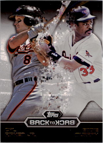 Photo of 2016 Topps Back to Back #B2B14 Eddie Murray/Cal Ripken Jr.