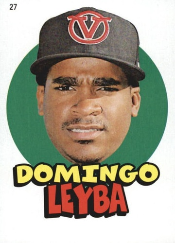 Photo of 2016 Topps Heritage Minors '67 Topps Stickers #27 Domingo Leyba
