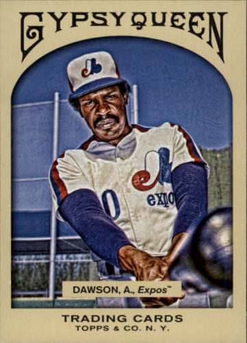 Photo of 2011 Topps Gypsy Queen #20 Andre Dawson