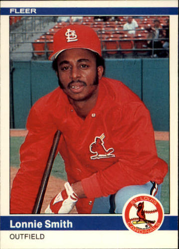 Photo of 1984 Fleer #335 Lonnie Smith