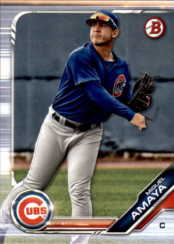Photo of 2019 Bowman Draft #BD135 Miguel Amaya