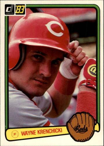 Photo of 1983 Donruss #314 Wayne Krenchicki