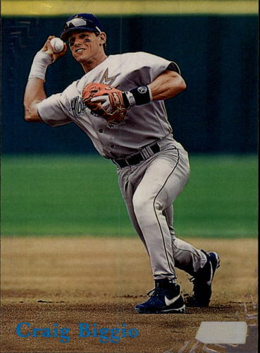 Photo of 1998 Stadium Club #49 Craig Biggio