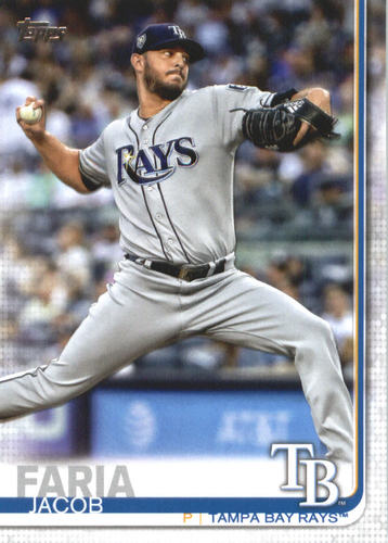 Photo of 2019 Topps #656 Jacob Faria