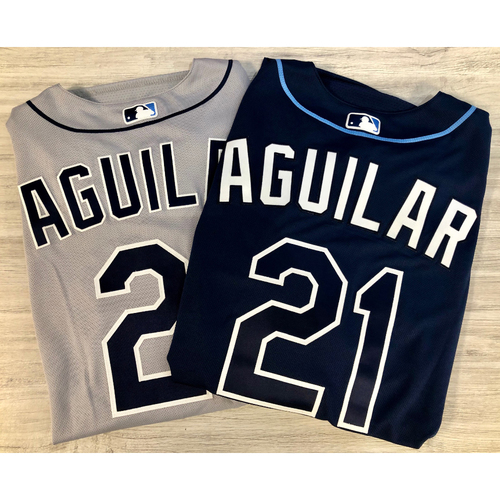 Photo of Team Issued Jersey Package (2): Jesus Aguilar