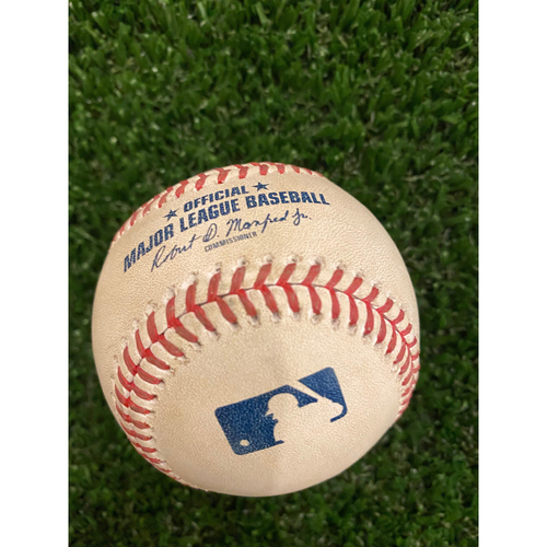 Photo of Juan Soto Game Used Home Run Baseball - August 17, 2020