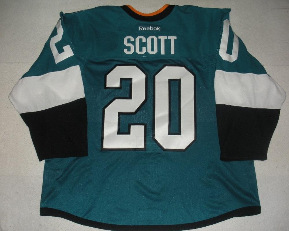 newest 7c023 0a661 John Scott - San Jose Sharks - 2015 NHL Stadium Series ...