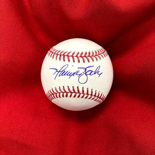 Photo of Harrison Bader Autographed Baseball