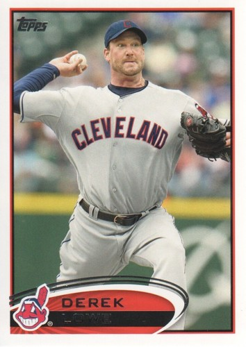 Photo of 2012 Topps #638 Derek Lowe