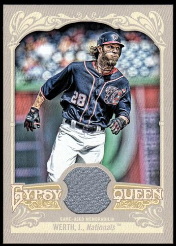 Photo of 2012 Topps Gypsy Queen Relics #JW Jayson Werth