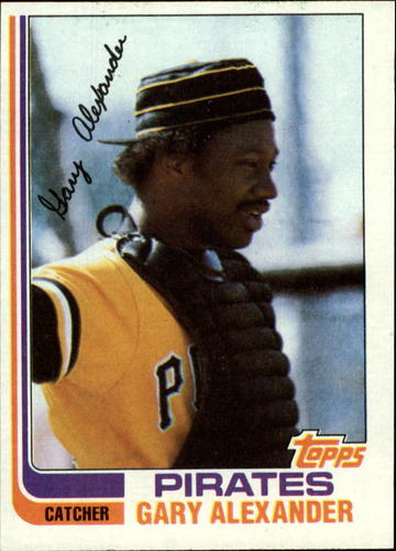 Photo of 1982 Topps #11 Gary Alexander
