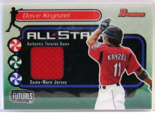 Photo of 2004 Bowman Futures Game Gear Jersey Relics #DBK Dave Krynzel B
