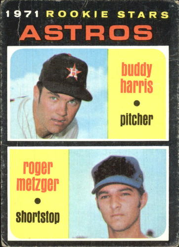 Photo of 1971 Topps #404 Rookie Stars/Buddy Harris RC/Roger Metzger RC