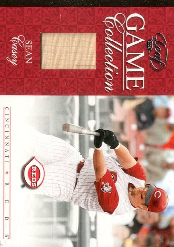 Photo of 2005 Leaf Game Collection #7 Sean Casey Bat