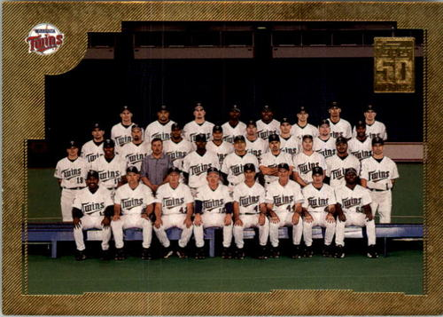 Photo of 2001 Topps Gold #768 Minnesota Twins TC