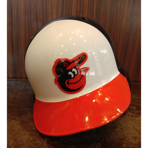 Manny Machado - Batting Helmet: Game-Used