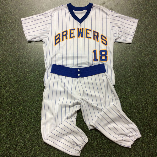 Eric Sogard Team-Issued 1982 Reunion Weekend Uniform