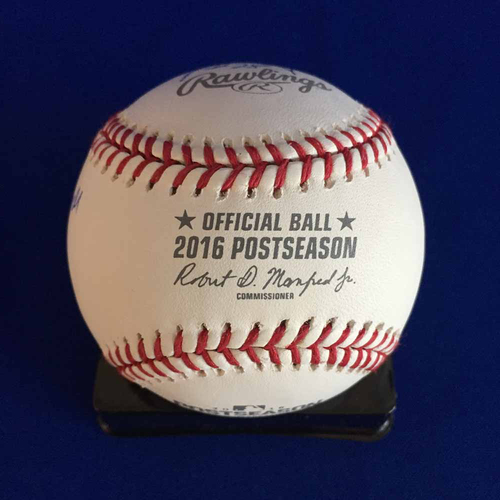 UMPS CARE AUCTION: 2016 ALCS Crew Signed Baseball + Joe Torre - Not MLB Authenticated