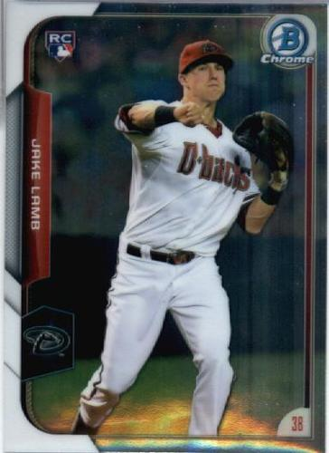 Photo of 2015 Bowman Chrome #168 Jake Lamb RC