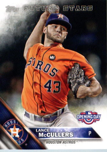 Photo of 2016 Topps Opening Day #OD171 Lance McCullers